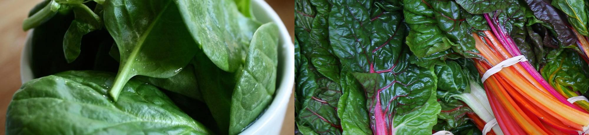 Spinach and Chard